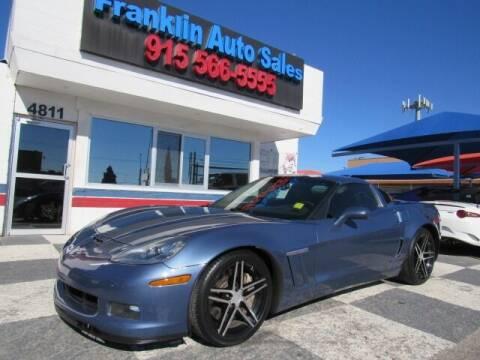 2011 Chevrolet Corvette for sale at Franklin Auto Sales in El Paso TX