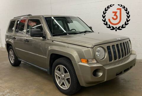 2008 Jeep Patriot for sale at 3 J Auto Sales Inc in Arlington Heights IL