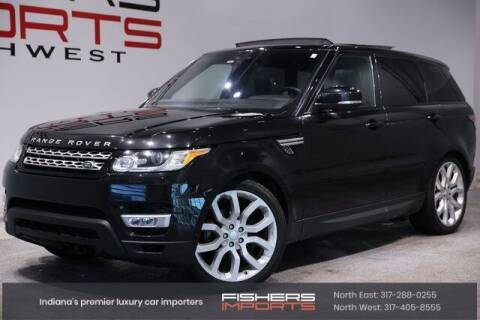 2017 Land Rover Range Rover Sport for sale at Fishers Imports in Fishers IN