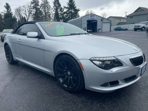 2008 BMW 6 Series for sale at 3 BOYS CLASSIC TOWING and Auto Sales in Grants Pass OR