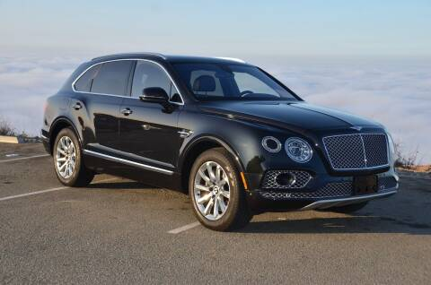 2017 Bentley Bentayga for sale at Urge to Drive LLC in Escondido CA