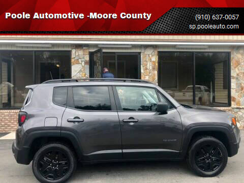 2018 Jeep Renegade for sale at Poole Automotive -Moore County in Aberdeen NC