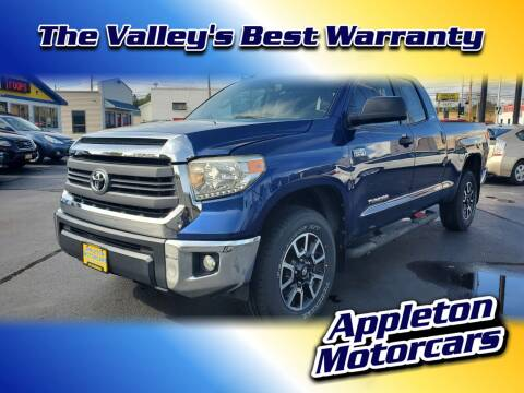 2014 Toyota Tundra for sale at Appleton Motorcars Sales & Service in Appleton WI