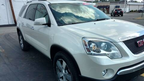 2011 GMC Acadia for sale at Graft Sales and Service Inc in Scottdale PA