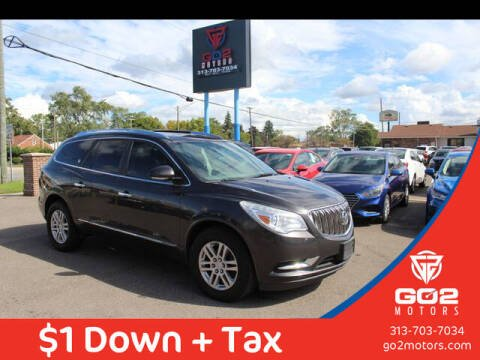 2014 Buick Enclave for sale at Go2Motors in Redford MI