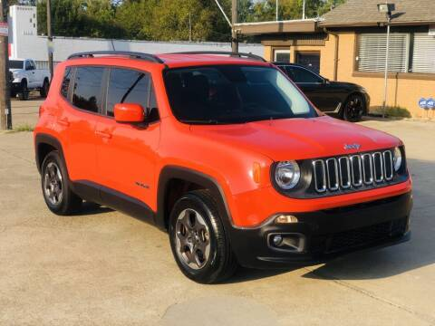 2015 Jeep Renegade for sale at Safeen Motors in Garland TX