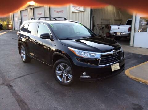 2014 Toyota Highlander for sale at TRI-STATE AUTO OUTLET CORP in Hokah MN