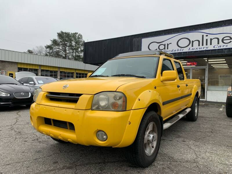 2002 Nissan Frontier for sale at Car Online in Roswell GA