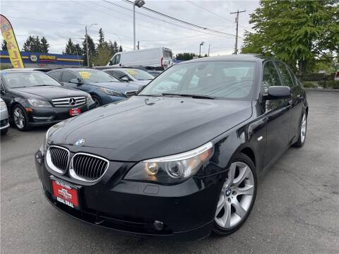 2007 BMW 5 Series for sale at Real Deal Cars in Everett WA