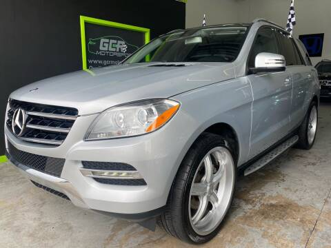 2015 Mercedes-Benz M-Class for sale at GCR MOTORSPORTS in Hollywood FL