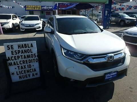 2017 Honda CR-V for sale at Cedano Auto Mall Inc in Bronx NY