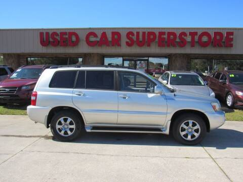 2006 Toyota Highlander for sale at Checkered Flag Auto Sales NORTH in Lakeland FL