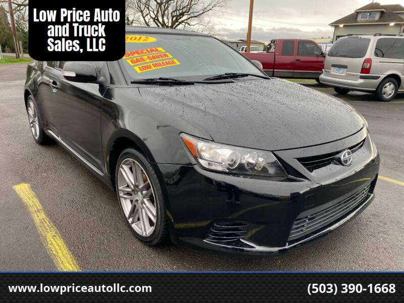 2012 Scion tC for sale at Low Price Auto and Truck Sales, LLC in Salem OR