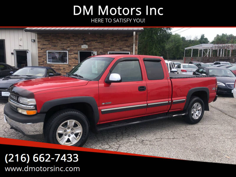2002 Chevrolet Silverado 1500 for sale at DM Motors Inc in Maple Heights OH