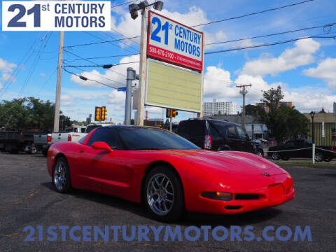 1997 Chevrolet Corvette for sale at 21st Century Motors in Fall River MA