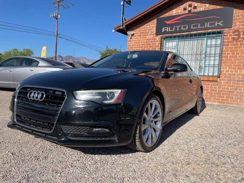 2013 Audi A5 for sale at Auto Click in Tucson AZ