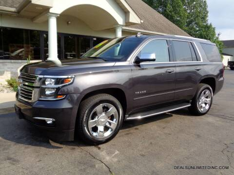 2017 Chevrolet Tahoe for sale at DEALS UNLIMITED INC in Portage MI