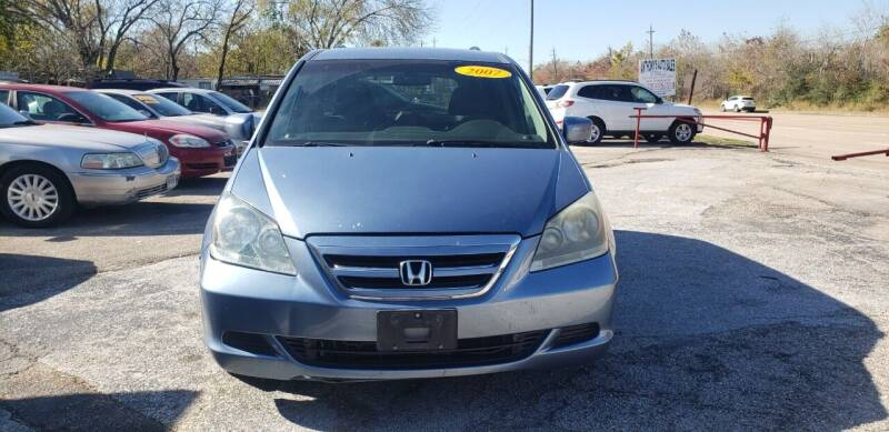 2007 Honda Odyssey for sale at Anthony's Auto Sales of Texas, LLC in La Porte TX