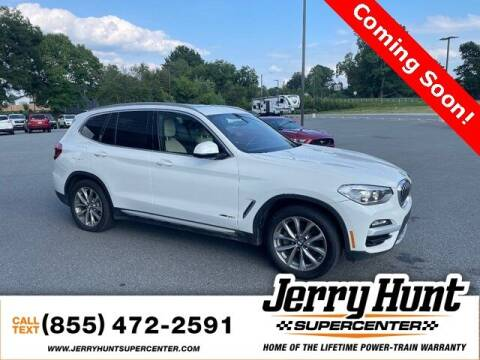 2018 BMW X3 for sale at Jerry Hunt Supercenter in Lexington NC