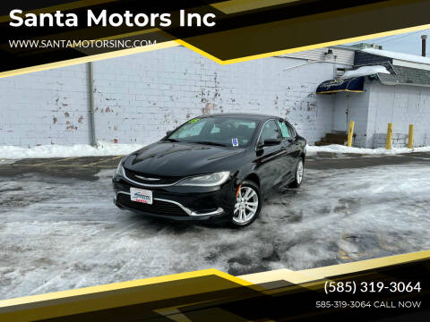 2015 Chrysler 200 for sale at Santa Motors Inc in Rochester NY