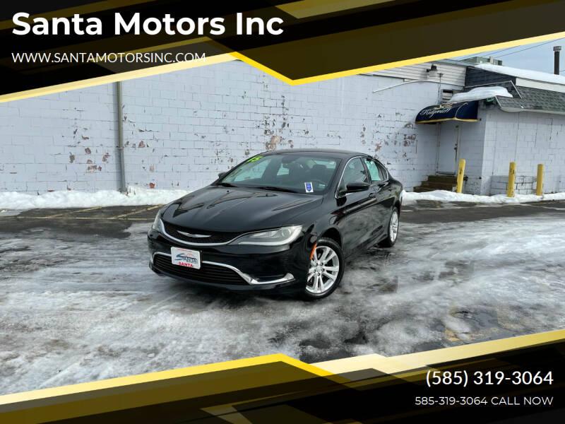 2015 Chrysler 200 for sale at Santa Motors Inc in Rochester NY