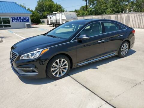 2016 Hyundai Sonata for sale at Kell Auto Sales, Inc - Grace Street in Wichita Falls TX