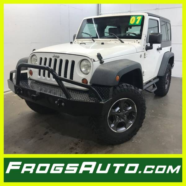 2007 Jeep Wrangler for sale at Frogs Auto Sales in Clinton IA