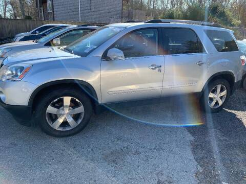 2012 GMC Acadia for sale at Mike's Auto Sales in Westport MA