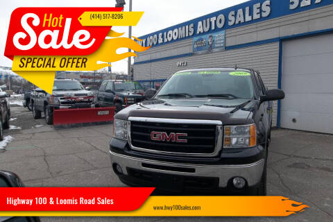 2009 GMC Sierra 1500 for sale at Highway 100 & Loomis Road Sales in Franklin WI