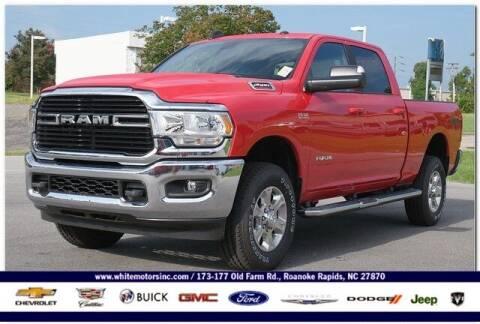 2021 RAM Ram Pickup 2500 for sale at WHITE MOTORS INC in Roanoke Rapids NC