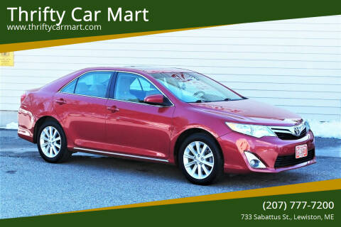 2013 Toyota Camry for sale at Thrifty Car Mart in Lewiston ME