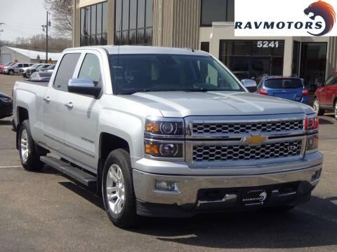 2014 Chevrolet Silverado 1500 for sale at RAVMOTORS 2 in Crystal MN