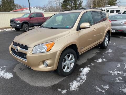 2011 Toyota RAV4 for sale at Alexandria Auto Mart LLC in Alexandria PA