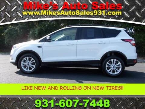 2018 Ford Escape for sale at Mike's Auto Sales in Shelbyville TN