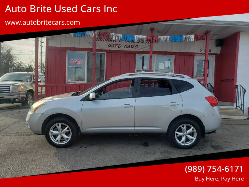 2009 Nissan Rogue for sale at Auto Brite Used Cars Inc in Saginaw MI