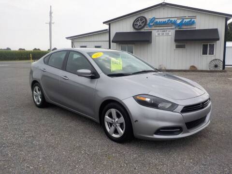 2015 Dodge Dart for sale at Country Auto in Huntsville OH