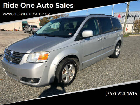 2010 Dodge Grand Caravan for sale at Ride One Auto Sales in Norfolk VA