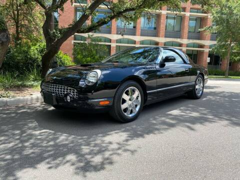 2002 Ford Thunderbird for sale at Motorcars Group Management - Bud Johnson Motor Co in San Antonio TX