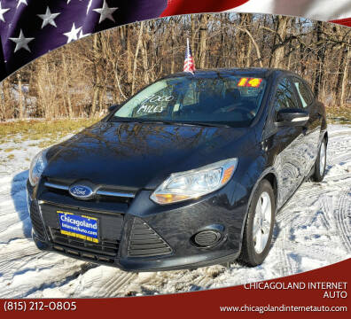 2014 Ford Focus for sale at Chicagoland Internet Auto - 410 N Vine St New Lenox IL, 60451 in New Lenox IL