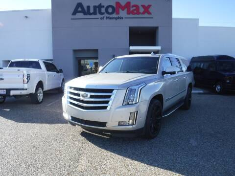 2017 Cadillac Escalade ESV for sale at AutoMax of Memphis - Logan Karr in Memphis TN