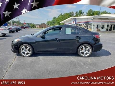 2013 Mazda MAZDA3 for sale at CAROLINA MOTORS in Thomasville NC