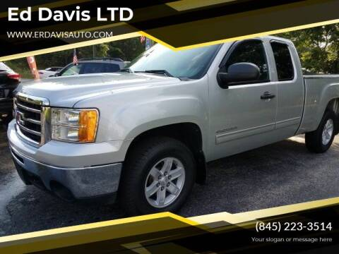 2012 GMC Sierra 1500 for sale at Ed Davis LTD in Poughquag NY