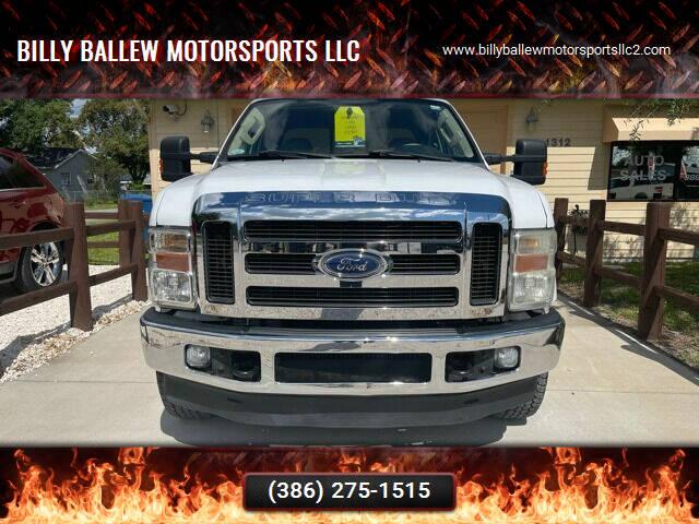 2010 Ford F-350 Super Duty for sale at Billy Ballew Motorsports LLC in Daytona Beach FL