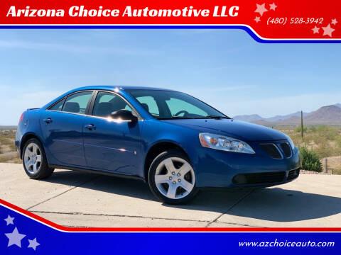 2007 Pontiac G6 for sale at Arizona Choice Automotive LLC in Mesa AZ