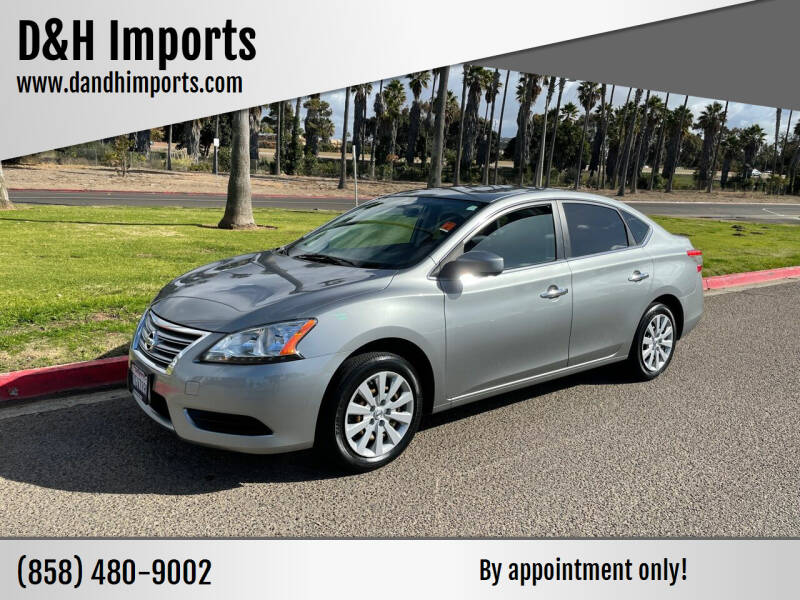 2014 Nissan Sentra for sale at D&H Imports in San Diego CA