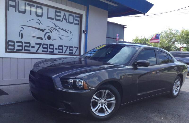 2013 Dodge Charger for sale at AUTO LEADS in Pasadena TX