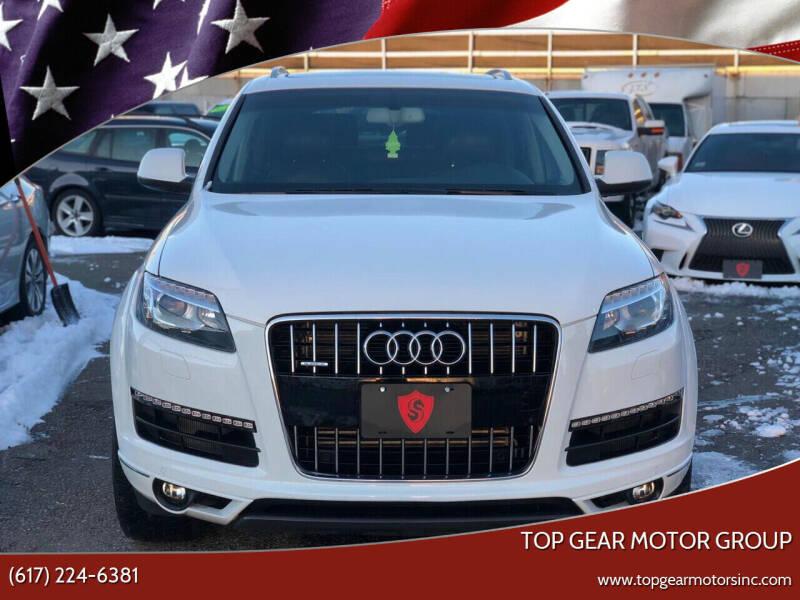 2015 Audi Q7 for sale at Top Gear Cars LLC in Lynn MA