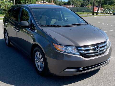2016 Honda Odyssey for sale at Consumer Auto Credit in Tampa FL