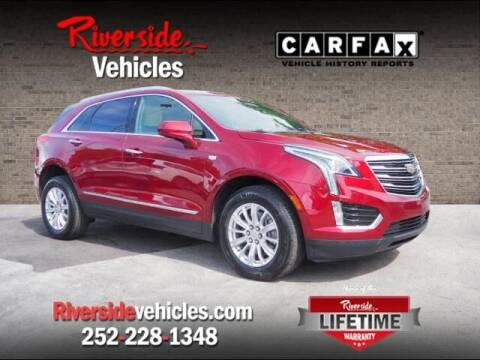 2017 Cadillac XT5 for sale at Riverside Mitsubishi(New Bern Auto Mart) in New Bern NC