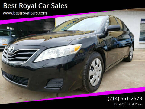 2010 Toyota Camry for sale at Best Royal Car Sales in Dallas TX